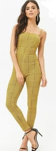 Houndstooth Bodycon Jumpsuit